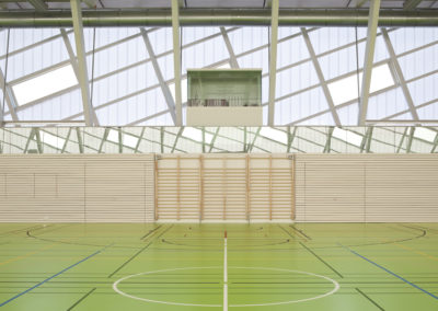 2014 Sport Hall, Yverdon (CH)